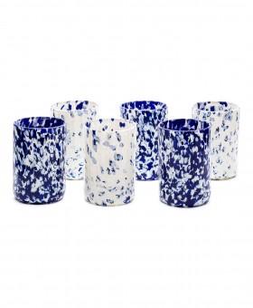 IVORY & BLUE GLASSES
