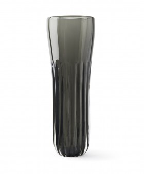COLONNA VASE DARK STEEL
