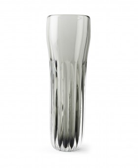 COLONNA VASE LIGHT STEEL
