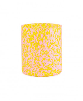 YELLOW & PINK MEDIUM VASE