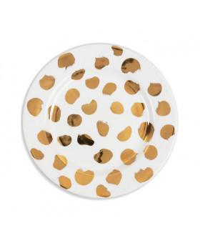 LADYBUG GOLD PLAIN PLATES