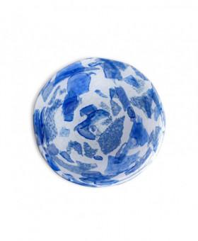 BLUE DESSERT PLATES