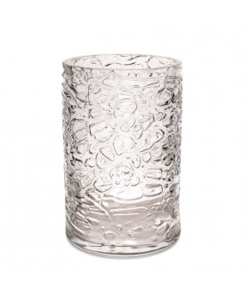 CRYSTAL TALL VASE