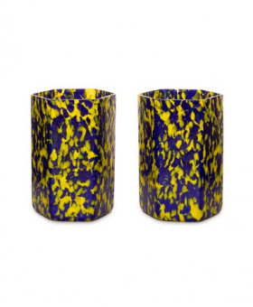 HEX YELLOW & BLUE TUMBLERS