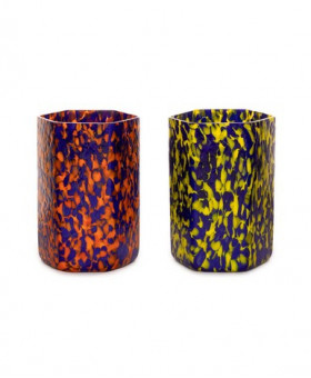 HEX YELLOW &ORANGE TUMBLERS